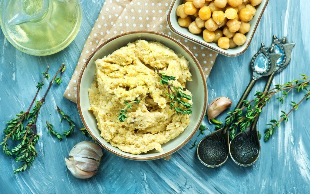 Houmous : une nouvelle tendance d'art culinaire